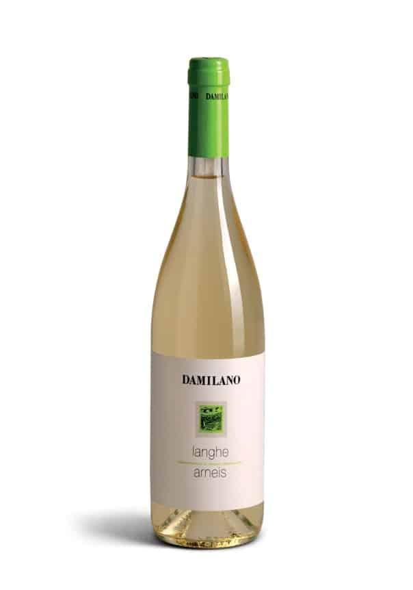 A bottle of Langhe Arnei