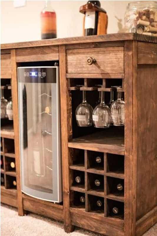 A Wine Refrigerator