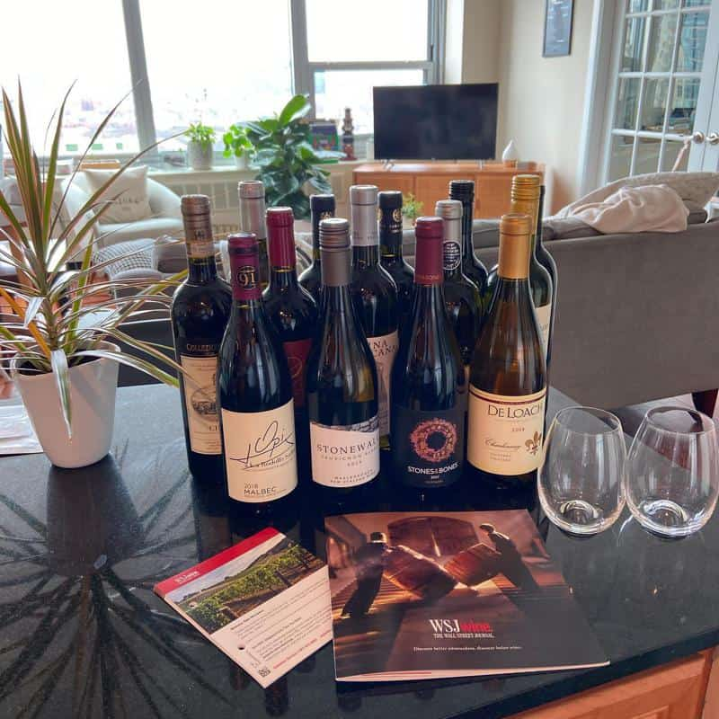 About the WSJ Wines