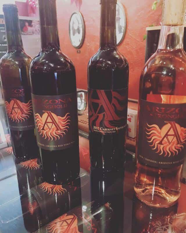 Arizona Stronghold Vineyards Tasting Room 3