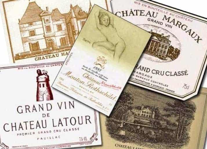 Bordeaux top-level wines