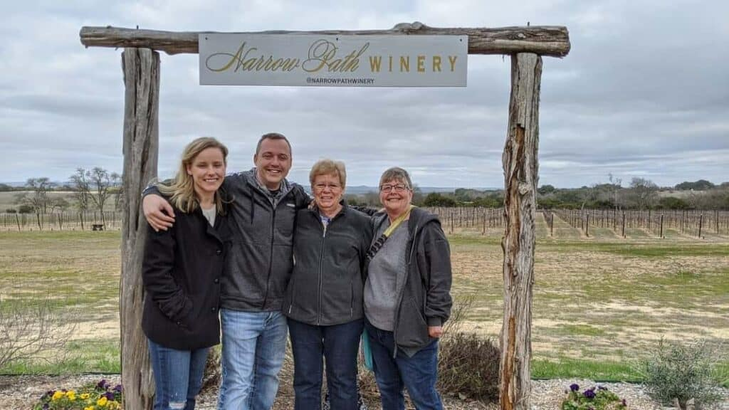 Boutique Winery Experience in the Fredericksburg Texas Hill 1