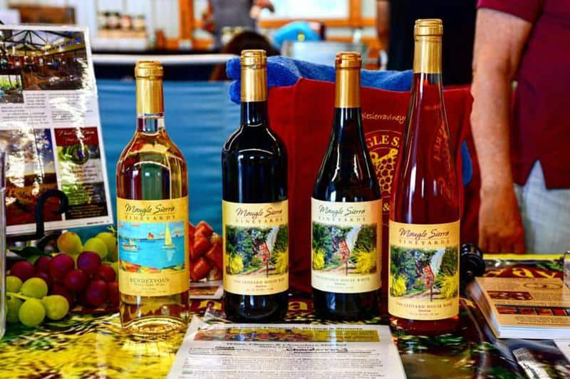 Maugle Sierra Vineyards Wines