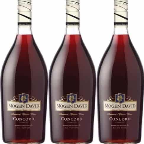Mogen David Concord grape wines