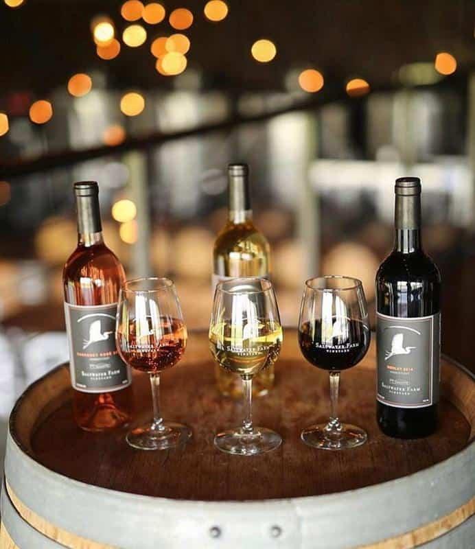 Saltwater Farm Vineyard Wines 1