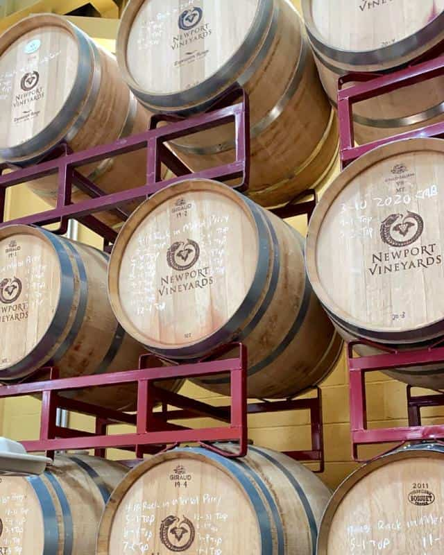Types Of Wine To Find At Newport Vineyards 2