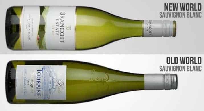 old world sauvignon blanc vs. new world