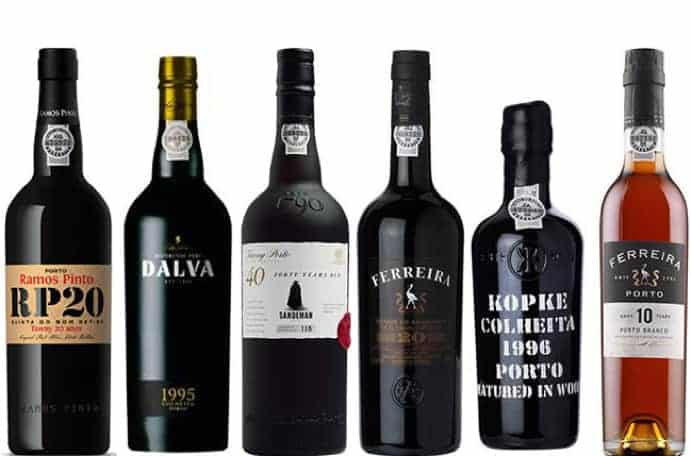 Popular port wines