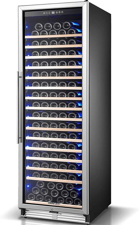 Bodega 176 Bottles Wine Refrigerator with High-Capacity