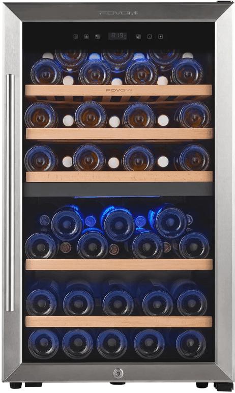 FOVOMI 20 Wine Cooler Refrigerator
