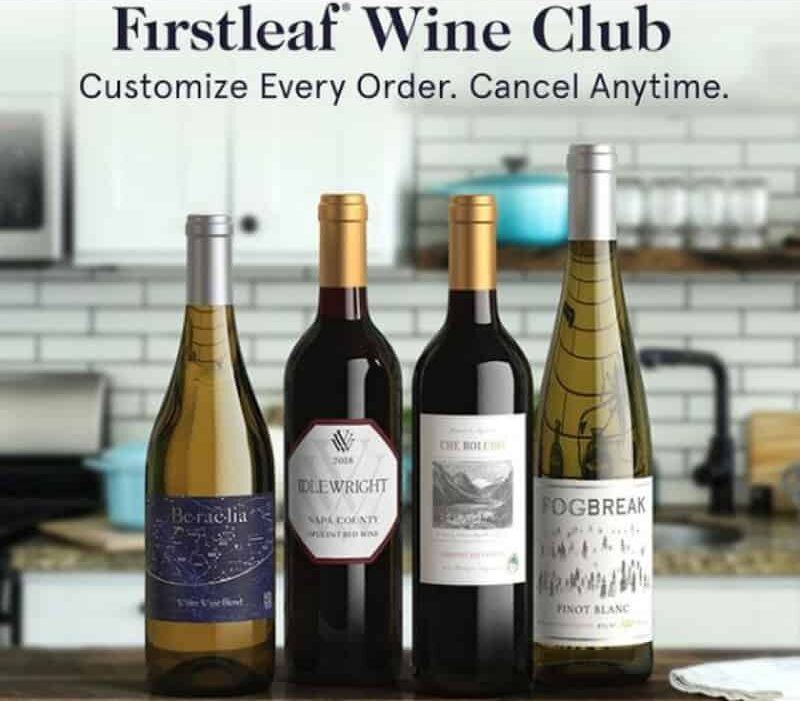 Firstleaf Wine Selection and Brands