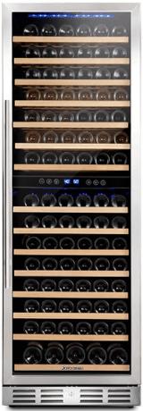 Kalamera 157 Bottle Freestanding Wine Cooler Refrigerator