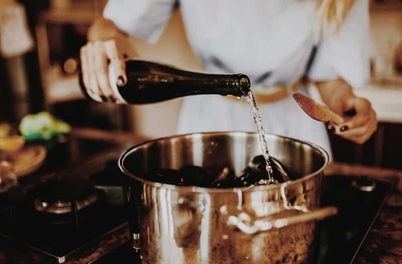 White Wine Cooking